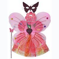 Imagen de Disfraz De Mariposa Con Pollera, Antifaz Y Varita