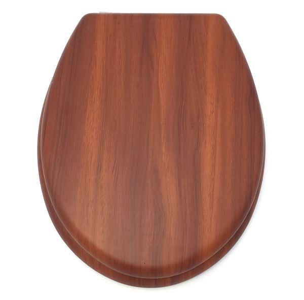 Imagen de Tapa Para Inodoro Diseño De Madera