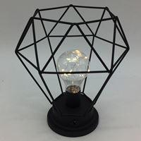 Imagen de Lámpara Portátil De Metal Diseño Minimalista