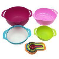 Imagen de Set De Cocina Bowls + Cernidor + Colador + Medidoras