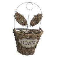 Imagen de Maceta De Mimbre Chica Para Colgar Flowers