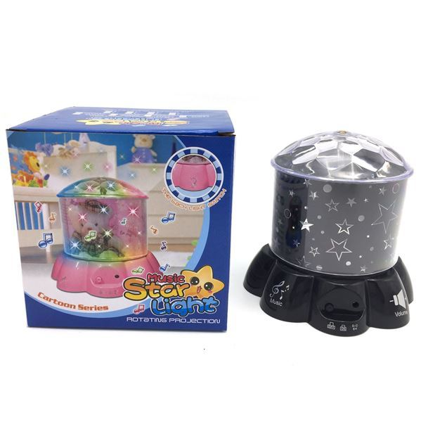 Imagen de Veladora Con Proyector De Estrellas Para Dormitorio Infantil