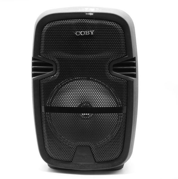 Imagen de Parlante Coby Con Luces, Bluetooth, Microfono Y Control