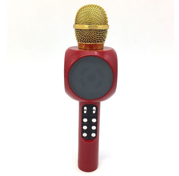 Imagen de Micrófono Karaoke Inalámbrico Bluetooth con Luces Led