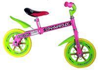"""Imagen de Bicicleta R"""" 12 Sin Pedales Chivi Chiva Fucsia con Verde"""