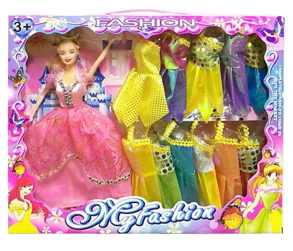 Imagen de Muñeca Con 11 Vestidos