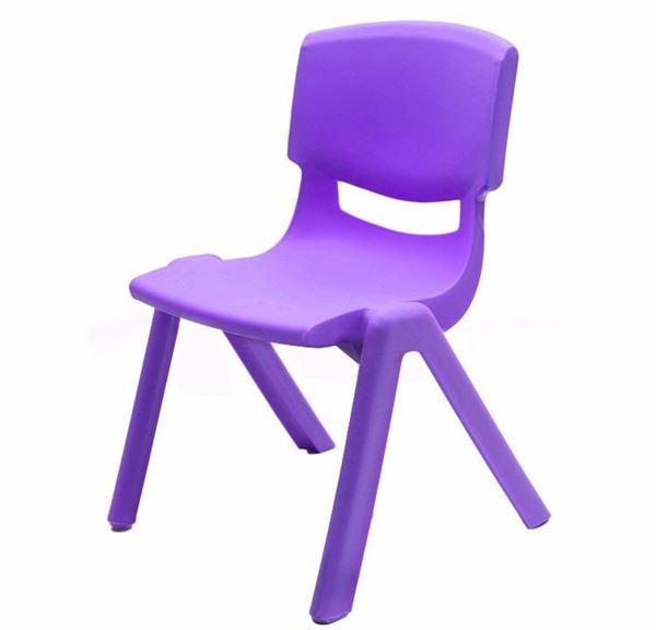 Imagen de Silla Infantil De Plástico Colores