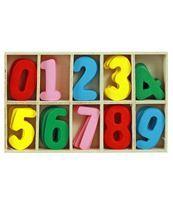 Imagen de Número De Madera En Caja