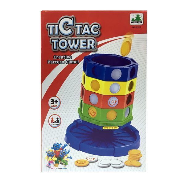 """Imagen de Juego De Mesa """"Tic Tac Tower"""""""