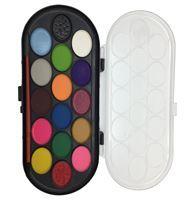Imagen de Acuarelas 16 Colores Con Pincel