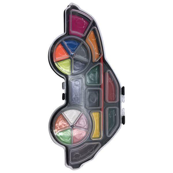 Imagen de Acuarela 19 Colores Auto