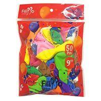 Imagen de Globo Tamaño 9''  X 50 Filippo Multicolor