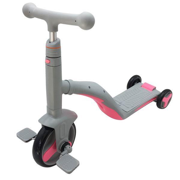 Imagen de Triciclo 3en1 Monopatín Tripatín Bici con Luz y Sonido