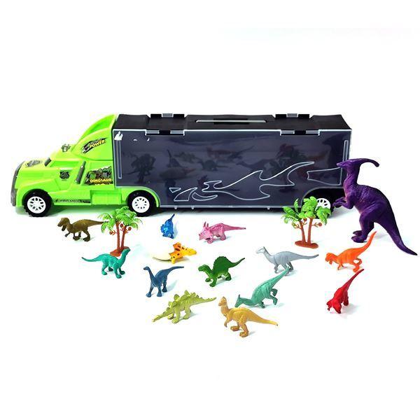 Imagen de Camión De Juguete Con Dinosaurios