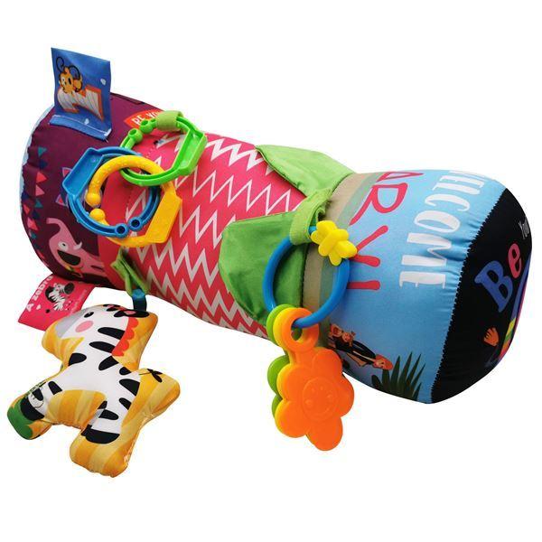 Imagen de Almohadón para Bebés con 3 Sonajeros y Accesorios