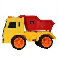 Imagen de Camión ruedas libres, con volqueta, 2 colores, en bolsa