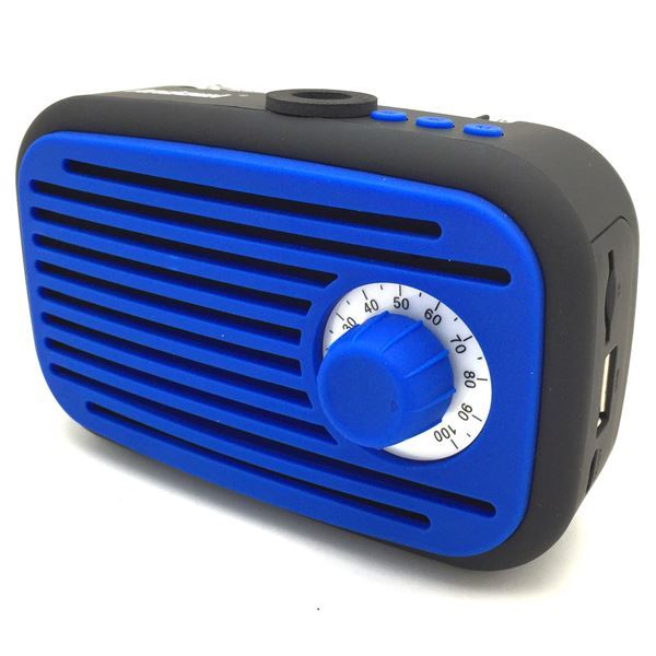 Imagen de Parlante Radio FM Con Bluetooth y USB