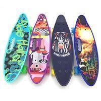 Imagen de Mini Patineta Penny Skateboard con Asa, Trucks Metal y Rueda