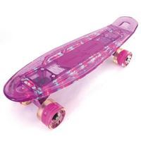 Imagen de Mini Patineta Penny Skateboard Transparente