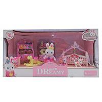 Imagen de Muebles de Muñecas con Conejo y Accesorios Juguete