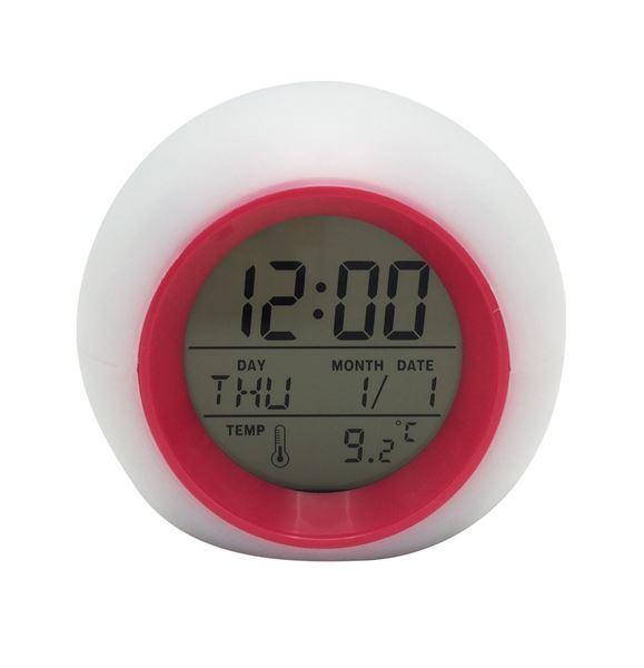 Imagen de Reloj Despertador Digital Alarma Con Luz Led