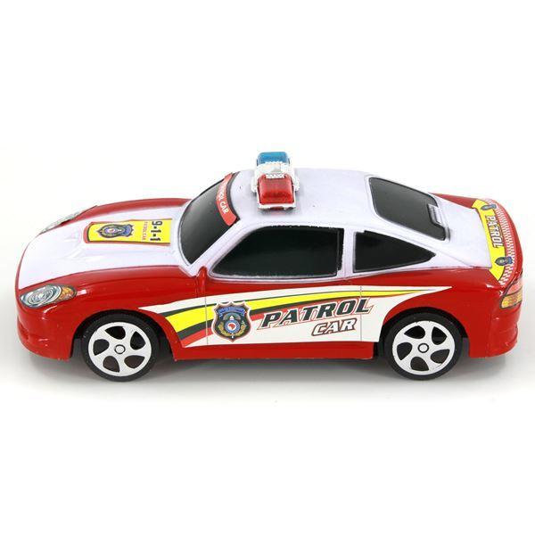 Imagen de Auto De Policía Con Fricción Burbuja
