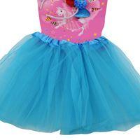 Imagen de Disfraz Infantil Pollera con Tiara de Sirena