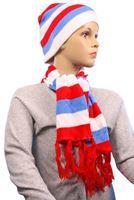 Imagen de Gorro y bufanda de lana c/diseños 4987