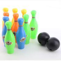 Imagen de Bowling 12 Piezas Con Soporte Plástico Pelotas