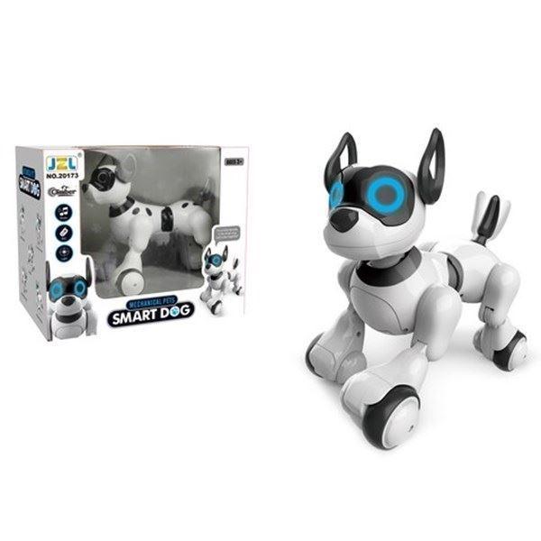 Imagen de Perro con control remoto, con luz, sonido y movimiento, en caja