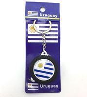 Imagen de Llavero cinta métrica 1m, diseño URUGUAY, pack x12