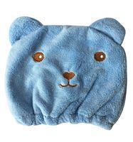 Imagen de Toalla de cabeza gorro infantil, en bolsa, 2 colores