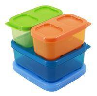 Imagen de Tupper de plástico RUBBERMAID x3, con barra de gel refrigerante