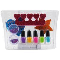 Imagen de Maquillaje infantil, esmaltes x5 y accesorios, Beauty Angel autorizado MSP