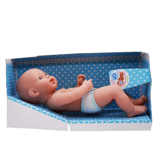 Imagen de Bebote con pañal, niña, en caja