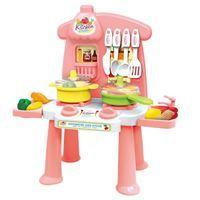 Imagen de Electrodomésticos, cocina chica con carrito supermercado y accesorios, en caja