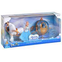 Imagen de Caballo y carruje calabaza con muñeca, con sonido, 2AA, en caja