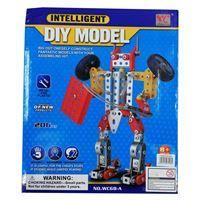 Imagen de Puzzle robot para armar, 206 piezas de metal, en caja