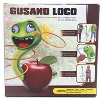 Imagen de Gusano loco, juego de puntería para embocar aros, 2AA, en caja