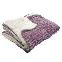 Imagen de Frazada manta polar con corderito, 1 plaza,con diseño varios colores
