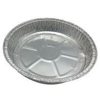 Imagen de Bandeja de papel aluminio redonda, descartable, pack x5