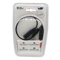 Imagen de Cable duplicador de audio JACK 3.5mm, en blister