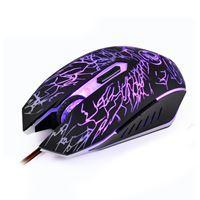Imagen de Mouse óptico gamer X5 IMICE con cable, luz led en caja