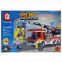 Imagen de Blocks 276 piezas, camión de bomberos, en caja