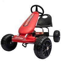 Imagen de Auto kart a pedal, ruedas de plástico, 2 colores, en caja