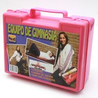 Imagen de Equipo de gimnasia, cuerda para saltar y mancuernas , en valija